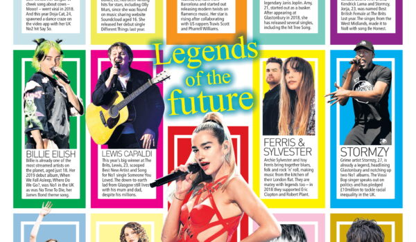Amy Montgomery tipped as a 'Legend Of The Future' in the UK's Sunday People