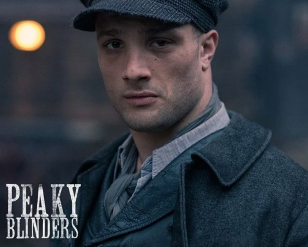 Cosmo Jarvis Peaky Blinders Photo